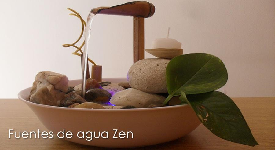 Fuentes de agua zen fuentes cascadas feng shui for Fuentes de agua para interior